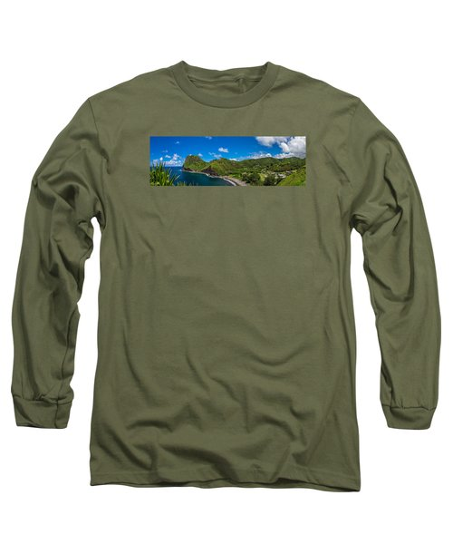 Kahakuloa Head Maui Hawaii Long Sleeve T-Shirt