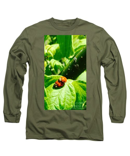 Ladybugs In Love - No. 2016 Long Sleeve T-Shirt