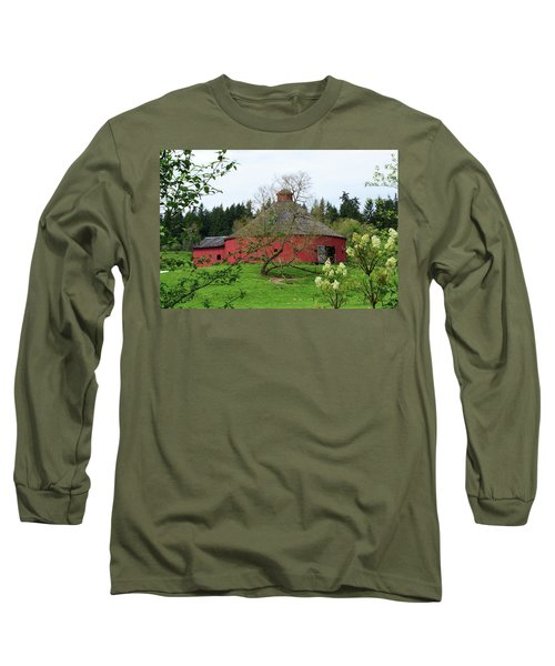 Spring At The Round Barn Long Sleeve T-Shirt