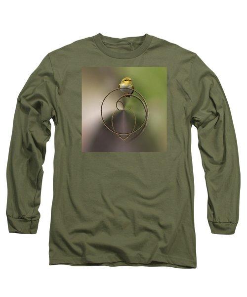 Wood Warbler Long Sleeve T-Shirt by Jouko Lehto