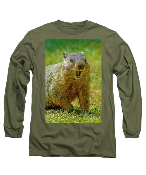 A Hungry Fellow  Long Sleeve T-Shirt by Paul W Faust - Impressions of Light