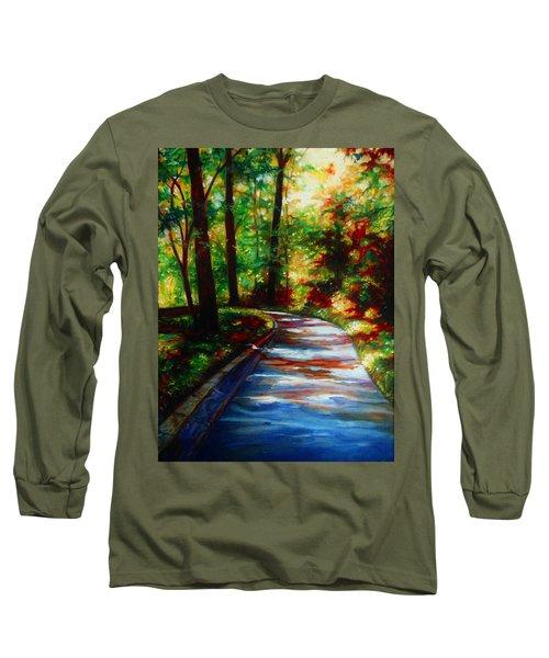 A Morning Walk Long Sleeve T-Shirt