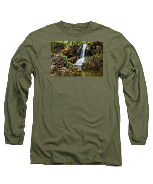 A Quiet Place Long Sleeve T-Shirt by Rick Furmanek