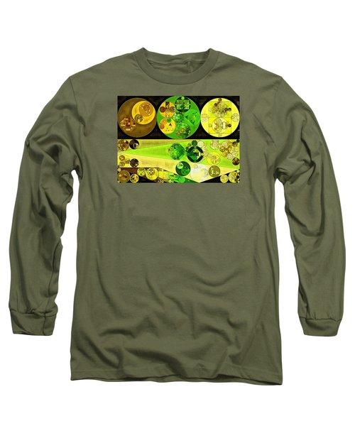 Long Sleeve T-Shirt featuring the digital art Abstract Painting - Starship by Vitaliy Gladkiy