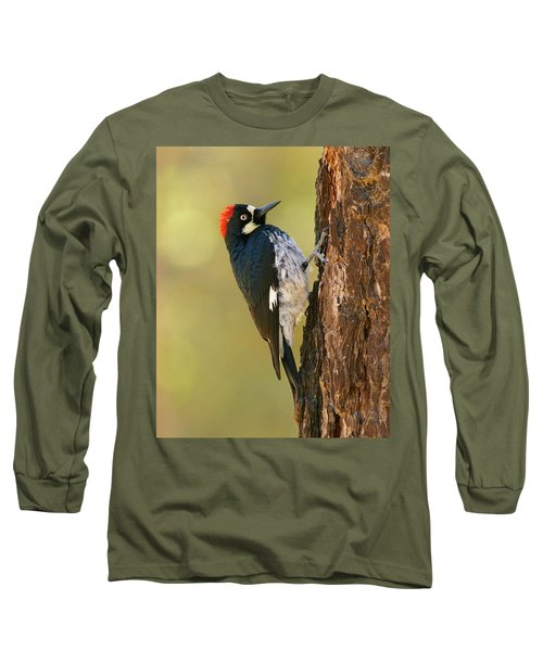 Acorn Woodpecker Long Sleeve T-Shirt