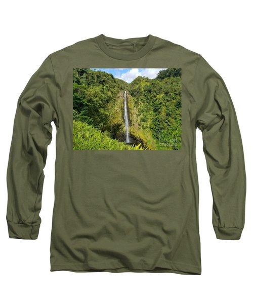 Akaka Falls Long Sleeve T-Shirt