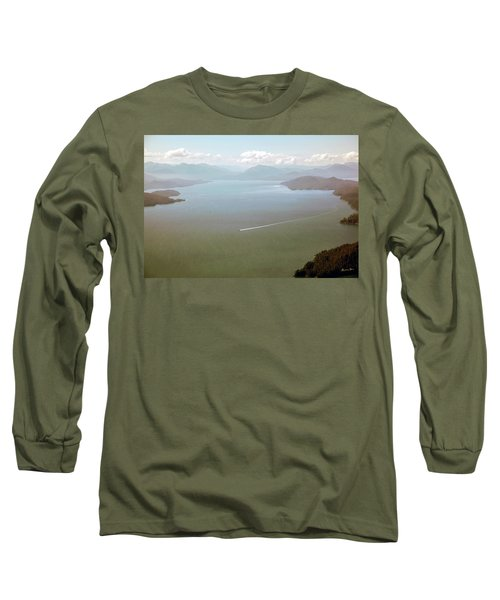 Long Sleeve T-Shirt featuring the photograph Alaska The Beautiful by Madeline Ellis
