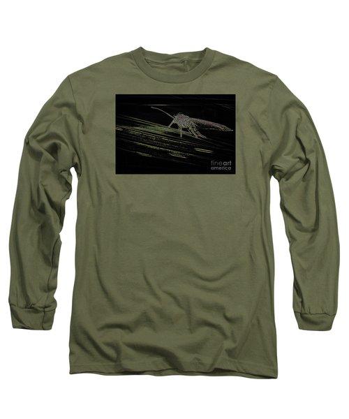Long Sleeve T-Shirt featuring the photograph Alien by Jivko Nakev