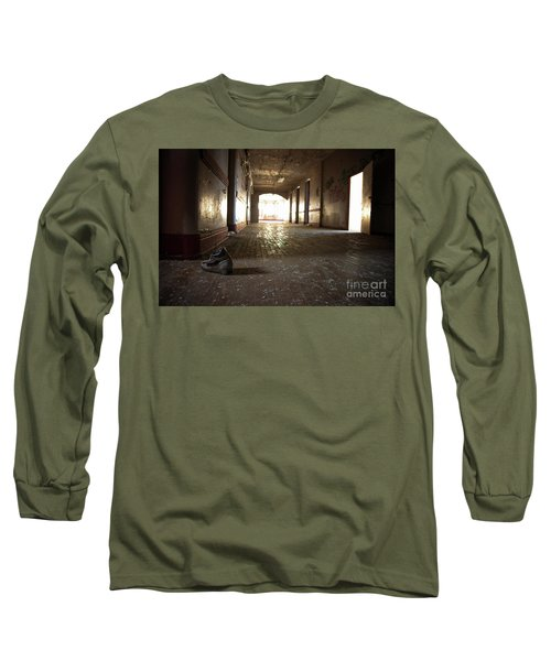 Long Sleeve T-Shirt featuring the photograph Alone by Randall Cogle