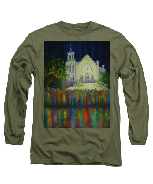 Amazing Grace Long Sleeve T-Shirt by Dorothy Allston Rogers