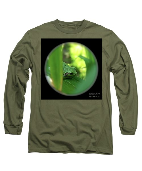 Ambiguous Long Sleeve T-Shirt by Sue Stefanowicz