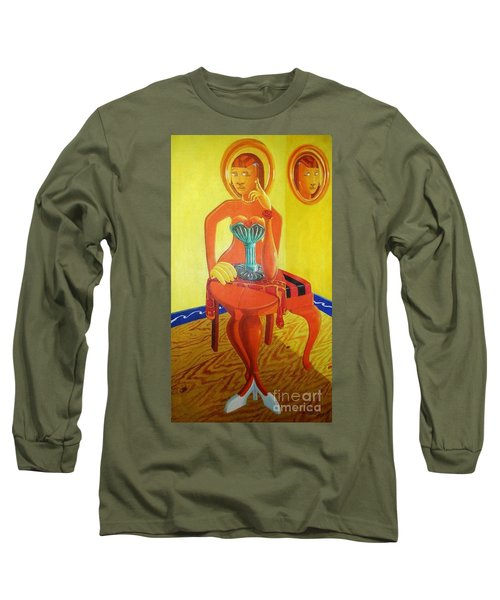 Anthropomorphic Alternative Reality Long Sleeve T-Shirt