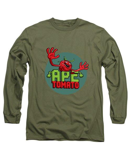 Ape Tomato Grey Green Long Sleeve T-Shirt
