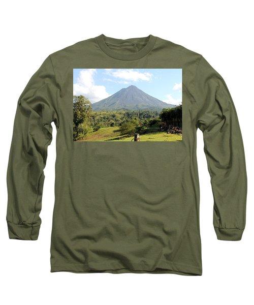 Arenal Volcano Long Sleeve T-Shirt