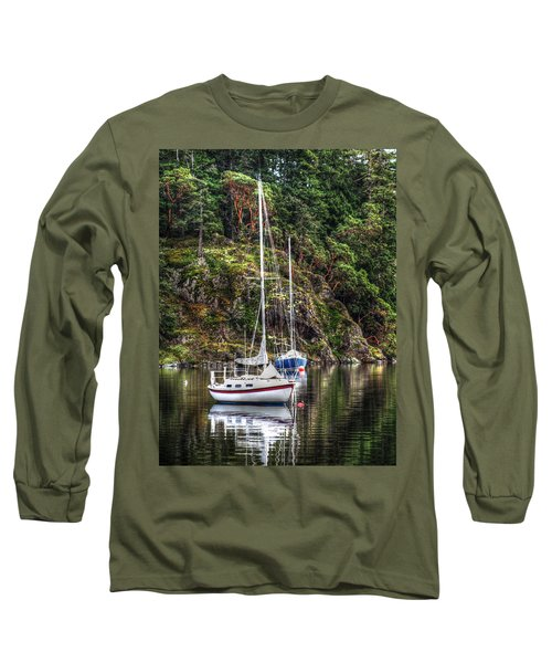 At Anchor Long Sleeve T-Shirt by Randy Hall