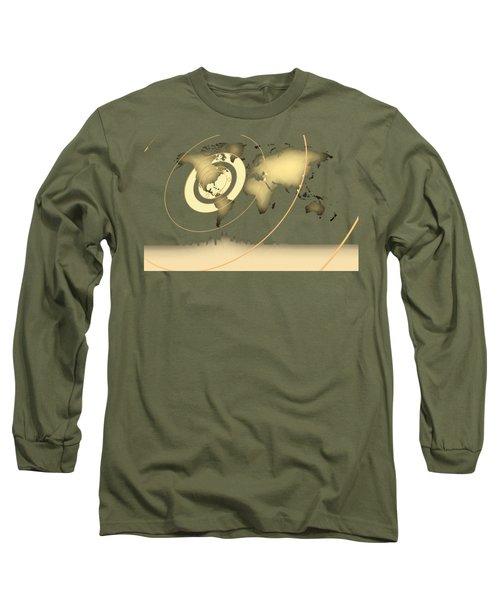 Atlanta In The World Long Sleeve T-Shirt