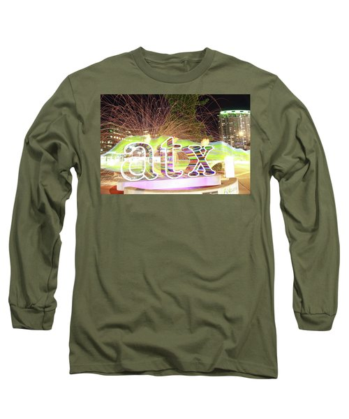 atx Long Sleeve T-Shirt by Andrew Nourse