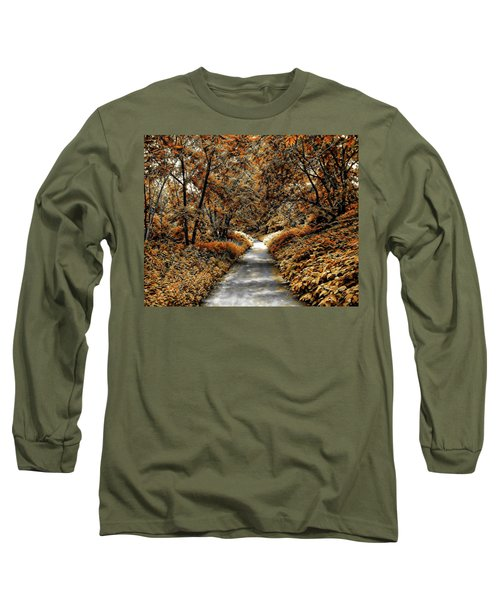 Autumn In Stamford Long Sleeve T-Shirt