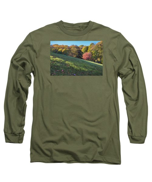 Long Sleeve T-Shirt featuring the photograph Autumn Palette by Tom Singleton