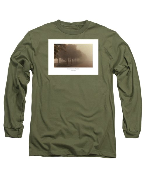 Avenue Des Arbres Long Sleeve T-Shirt