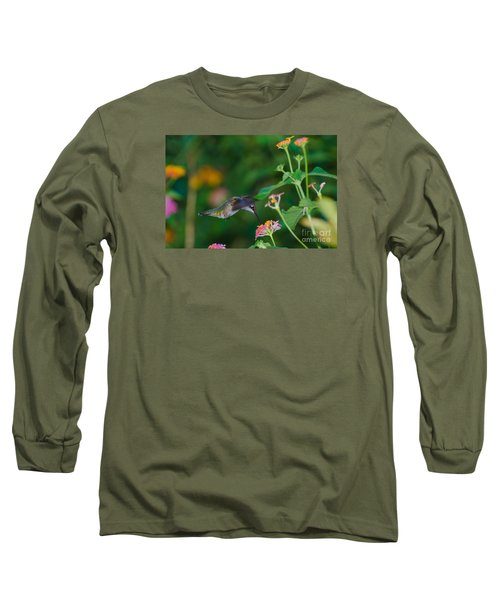 Awesome Beauty Long Sleeve T-Shirt by Donna Brown