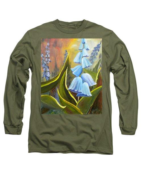 Baby Blues Long Sleeve T-Shirt by Renate Nadi Wesley