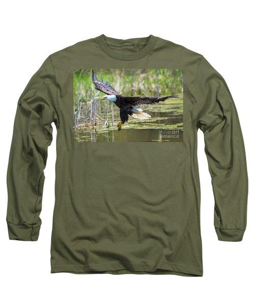 Bald Eagle-3175 Long Sleeve T-Shirt