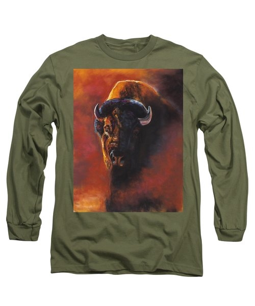 Basking In The Evening Glow Long Sleeve T-Shirt