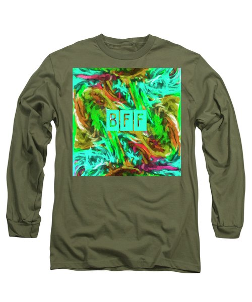 Best Friends Forever Long Sleeve T-Shirt by Bonnie Bruno