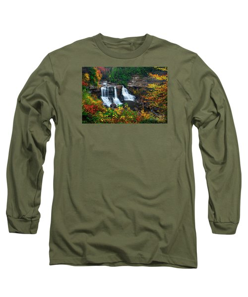 Blackwater Falls State Park Long Sleeve T-Shirt