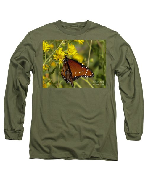 Butterfly 3 Long Sleeve T-Shirt