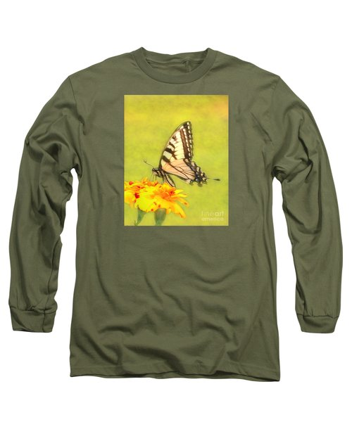 Butterfly Long Sleeve T-Shirt by Marion Johnson