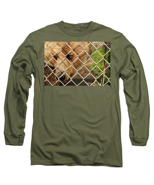 Caged Bear Long Sleeve T-Shirt