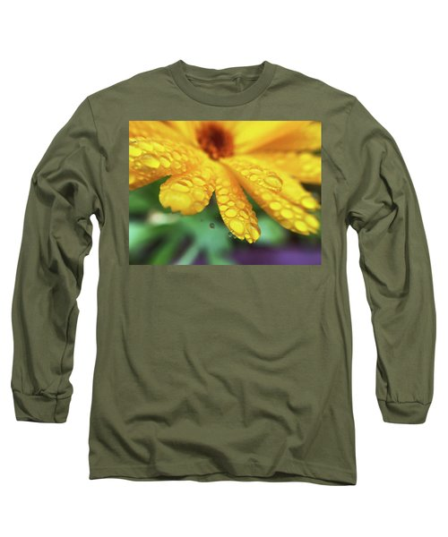 Calendula Officinalis Long Sleeve T-Shirt