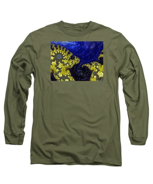Long Sleeve T-Shirt featuring the photograph Celestial Storm by Ronda Broatch