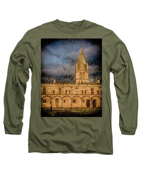 Oxford, England - Christ Church College Long Sleeve T-Shirt