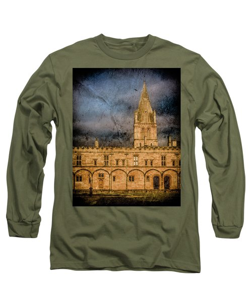 Oxford, England - Christ Church College Long Sleeve T-Shirt