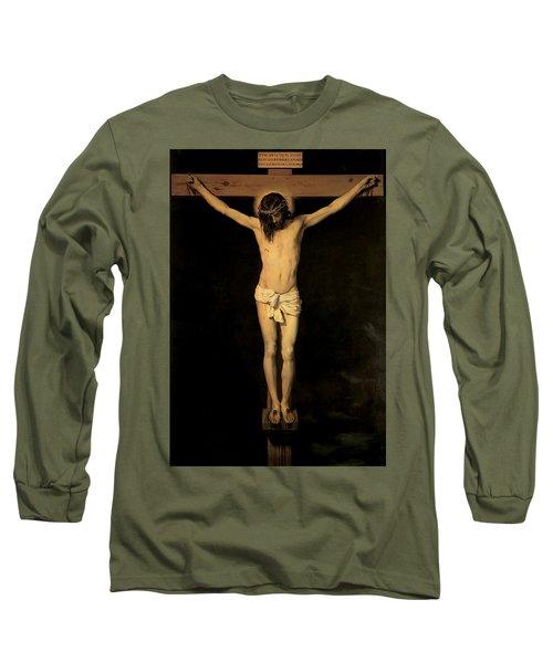 Christ On The Cross Long Sleeve T-Shirt