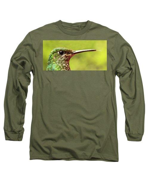 Close-up Of A Rufous-tailed Hummingbird Long Sleeve T-Shirt