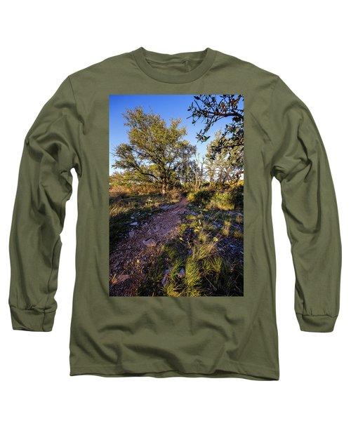 Colorado Bend State Park Gorman Falls Trail #2 Long Sleeve T-Shirt
