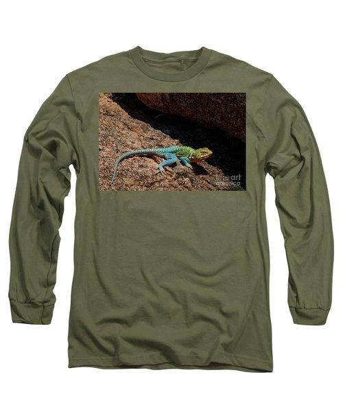 Colorful Lizard II Long Sleeve T-Shirt