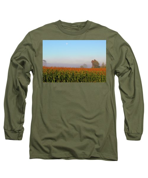 Cornfield Moonset Long Sleeve T-Shirt