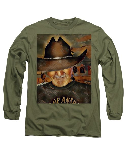 Cowboy Long Sleeve T-Shirt by Robert Smith