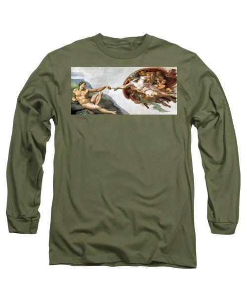 Creation Of Adam Long Sleeve T-Shirt