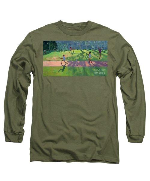 Cricket Sri Lanka Long Sleeve T-Shirt by Andrew Macara