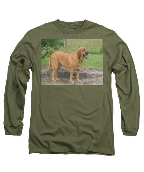 Cujo At The Park Long Sleeve T-Shirt by Val Oconnor