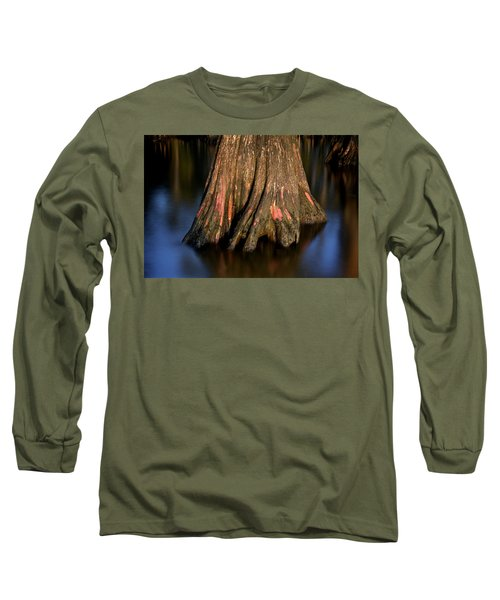 Long Sleeve T-Shirt featuring the photograph Cypress Tree by Evgeny Vasenev