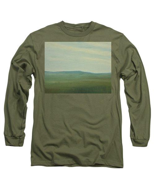 Dagrar Over Salenfjallen- Shifting Daylight Over Distant Horizon 5 Of 10_0029 91x61 Cm Long Sleeve T-Shirt