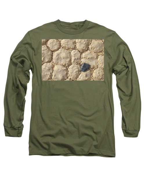 Long Sleeve T-Shirt featuring the photograph Death Valley Mud by Breck Bartholomew