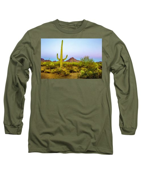 Long Sleeve T-Shirt featuring the photograph Desert Beauty by Barbara Manis
